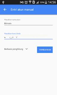 Pilihan Berbasis Penghitung | Tutorial - Cara mengaktifkan Google Authenticator di Hashnest