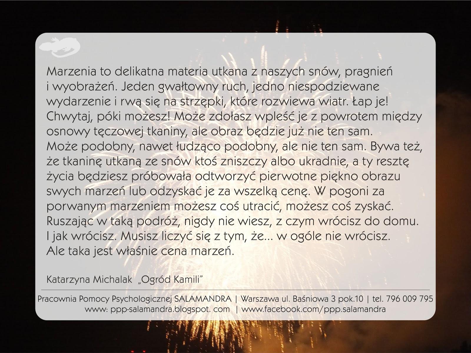 Spełnienia marzeń! Życzenia noworoczne na psychologicznym blogu