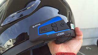 バイク用インカム LX-B4FM