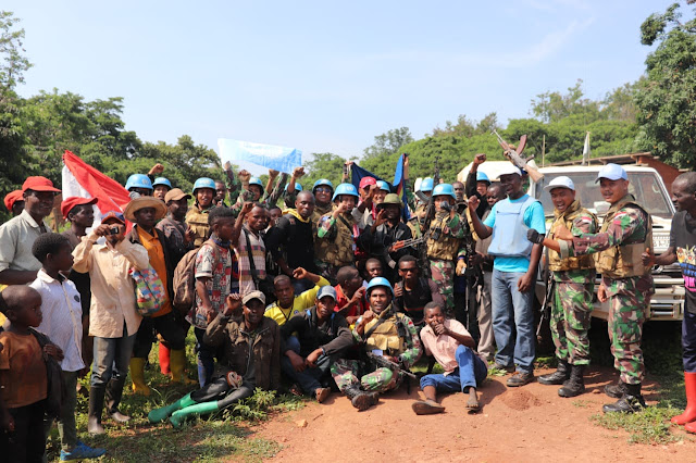 Gelar Operasi Sadar-01, Satgas Konga XXXIX-A Berhasil Dapatkan Senjata Ak-47