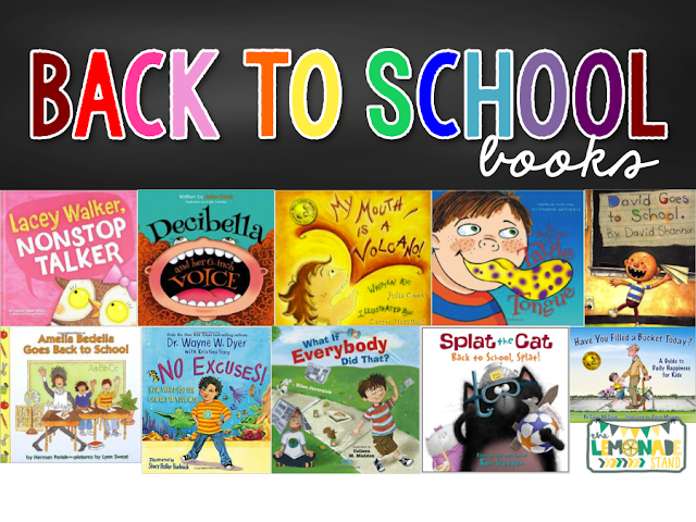 back to school books for classroom management