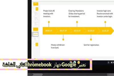 تعتبر Google جهاز Chromebook ثنائي الشاشة مثل Microsoft Surface Neo Rival