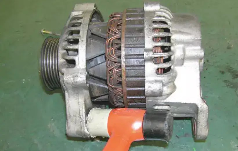 How to dis-assemble alternator