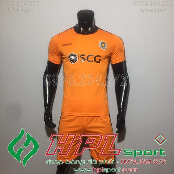 Áo đá bóng câu lạc bộ Hà Nội màu cam