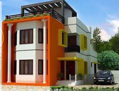 warna cat dinding luar rumah yang cerah 35