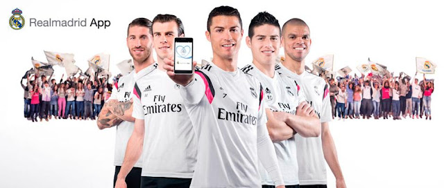La app del Madrid supera ya los 2 millones de descargas
