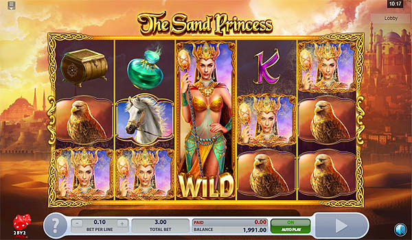 Main Gratis Slot Indonesia - The Sand Princess (2By2 Gaming)
