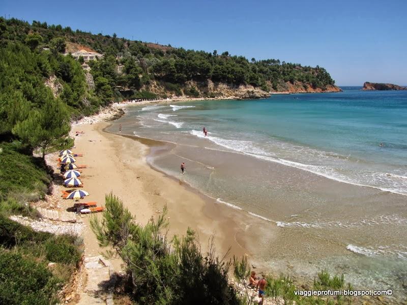 La spiaggia di Chrissi Milià, ad Alonissos
