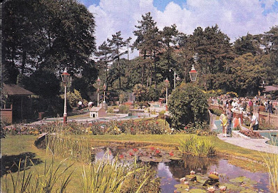 Mini-Golf at the Lower Gardens, Bournemouth, Dorset. J. Arthur Dixon postcard. PDO/89332 Posted August 1990