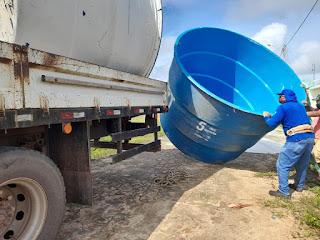 Bairro Cidade Nova ganha melhoria no abastecimento de água