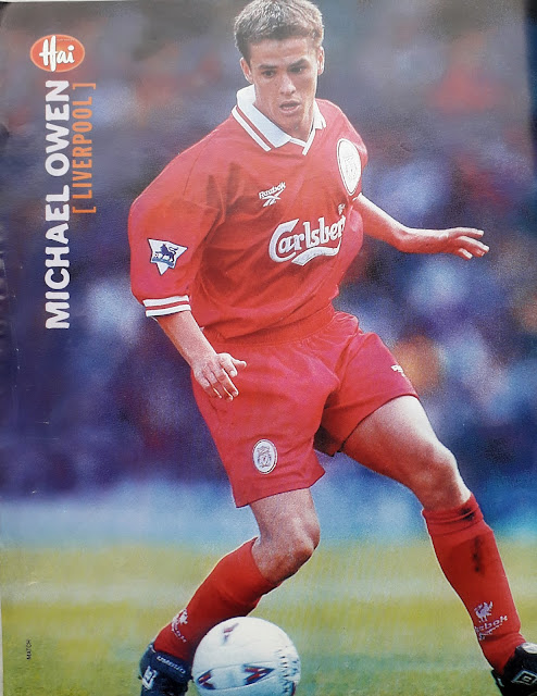 PIN UP MICHAEL OWEN (LIVERPOOL 1997)