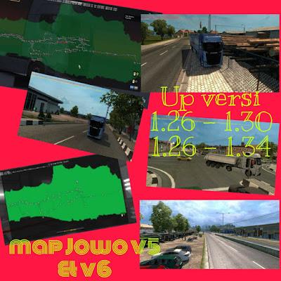 map jowo v5 up versi 1.26 - 1.30 & map jowo v6 up versi 1.26 - 1.34