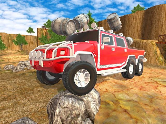 4x4 Offroad Sim Stunt Bukit Mobil