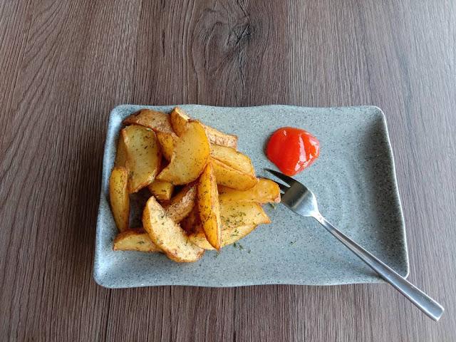 kentang goreng wedges