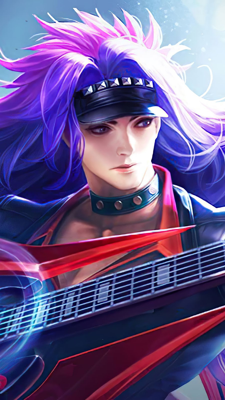 Wallpaper Martis Deathrock Skin Mobile Legends HD for Android and iOS