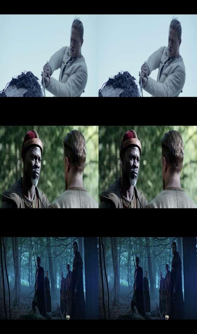 El Rey Arturo: La Leyenda de la Espada (2017) 3D SBS Latino