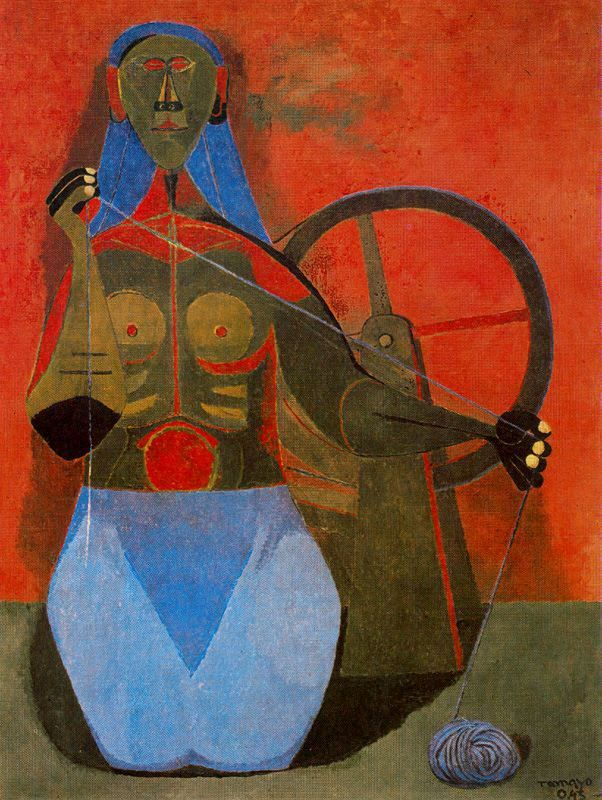 Exposition art blog rufino tamayo for Mural rufino tamayo