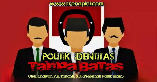 Presiden Jokowi di Istana Merdeka, Selasa (8/9). meminta aparat penegak hukum agar menindak tegas penggunaan politik identitas dan politik SARA dalam penyelenggaraan pilkada serentak 2020. Menurutnya politik identitas dan SARA harus dicegah karena dapat membahayakan persatuan dan kesatuan bangsa.  Pernyataan ini sulit untuk tidak dikaitkan dengan peristiwa dan kepentingan politik lain. Terlebih suhu politik nasional pra pilkada serentak 2020 kian memanas.  Realitas politik identitas menegaskan satu hal, yakni keinginan umat yang menggelora dan semakin membuncah terhadap kepemimpinan Islam. Kerinduan yang muncul bukan semata semangat berapi-api yang bakal kandas seiring waktu berjalan. Kerinduan ini lahir dari kesadaran yang terus dipupuk yang lahir dari keimanan umat dan keyakinan terhadap risalah Ilahi sebagai risalah terbaik sampai akhir jaman.