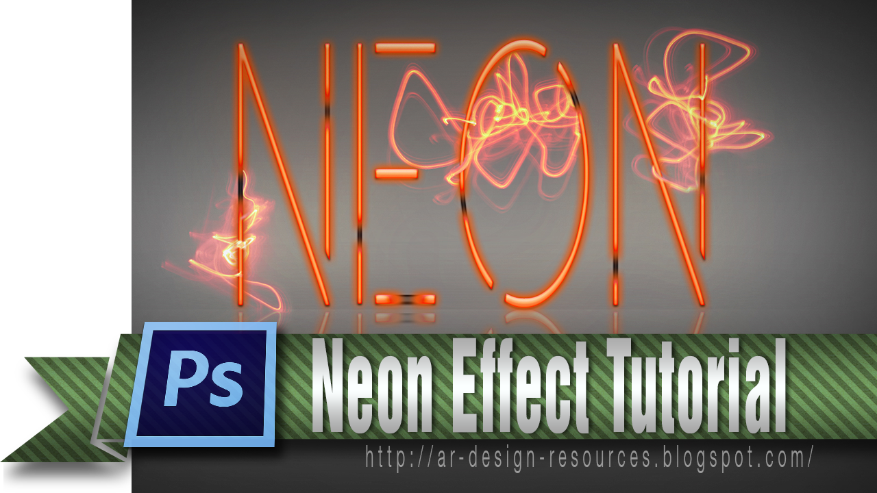 How to create a cool Neon Poster | Adobe Photoshop Tutorial