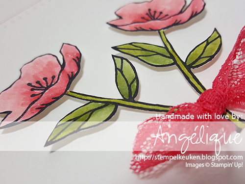 http://stempelkeuken.blogspot.com de Stempelkeuken Wink Of Stella, Birthday Blooms, Watermelon Wonder, Archival Basic Gray, Old Olive, Mossy Meadow, Piercing Mat, Piercing Tool