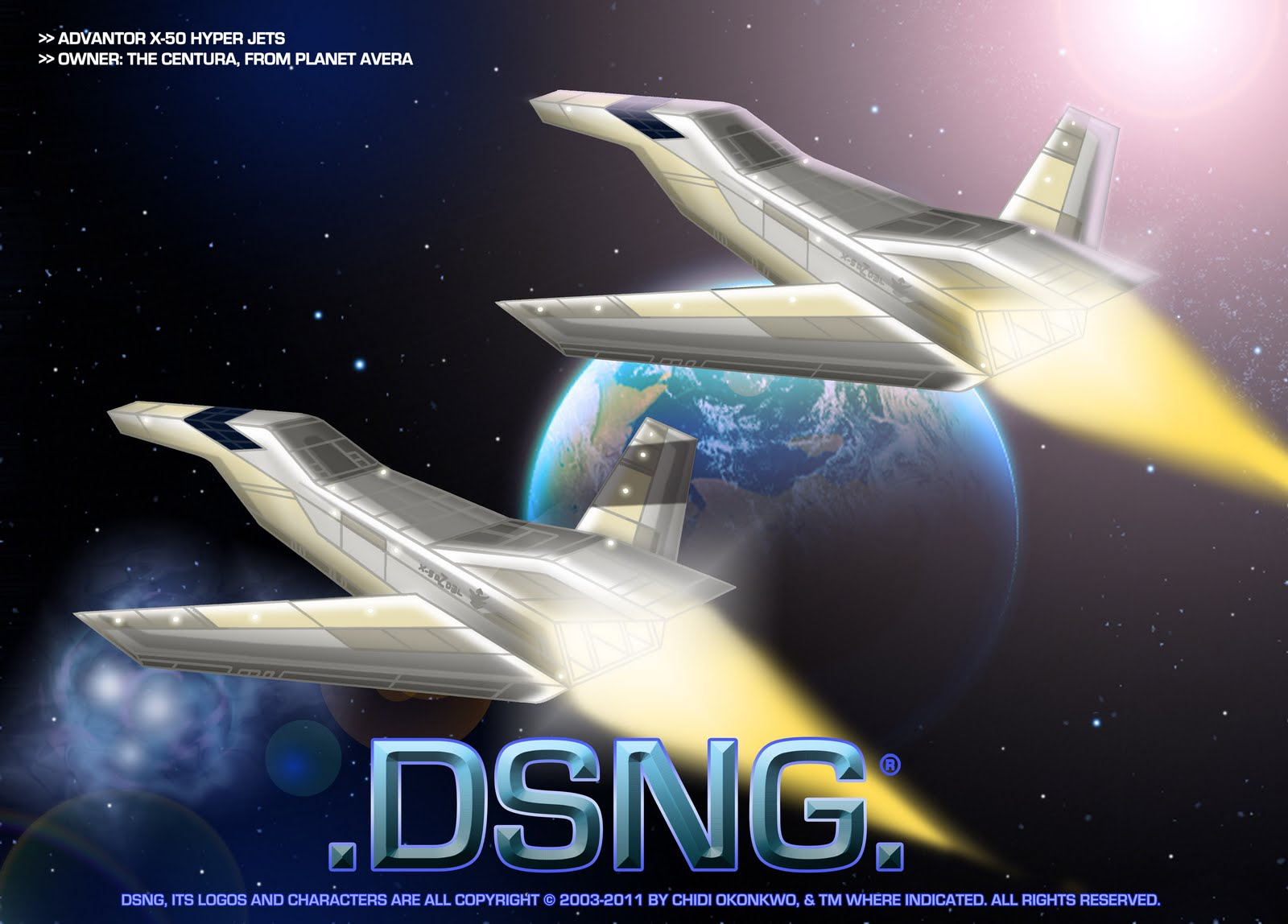 DSNG'S SCI FI MEGAVERSE: SPACECRAFTS, SPACESHIPS AND