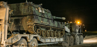 تركيا ترسل تعزيزات عسكرية تركية جديدة إلى الحدود السورية
