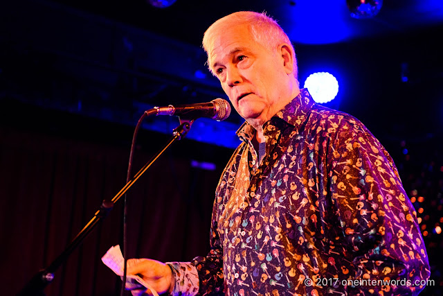 Dave Hodge at The Horseshoe Tavern 70th Anniversary Party at The Legendary Horseshoe Tavern on December 5, 2017 Photo by John at One In Ten Words oneintenwords.com toronto indie alternative live music blog concert photography pictures photos