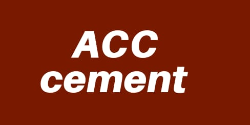Acc Cement in hindi