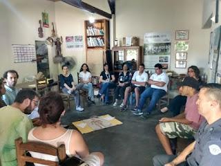 Avaliação Externa do Projeto Maleta Juventudes do Canal Futura visita a Rede Cananéia e organizações parceiras