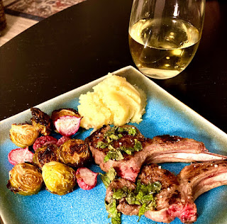Lamb Lollipops With Mint Sauce at Miz Helens Country Cottage