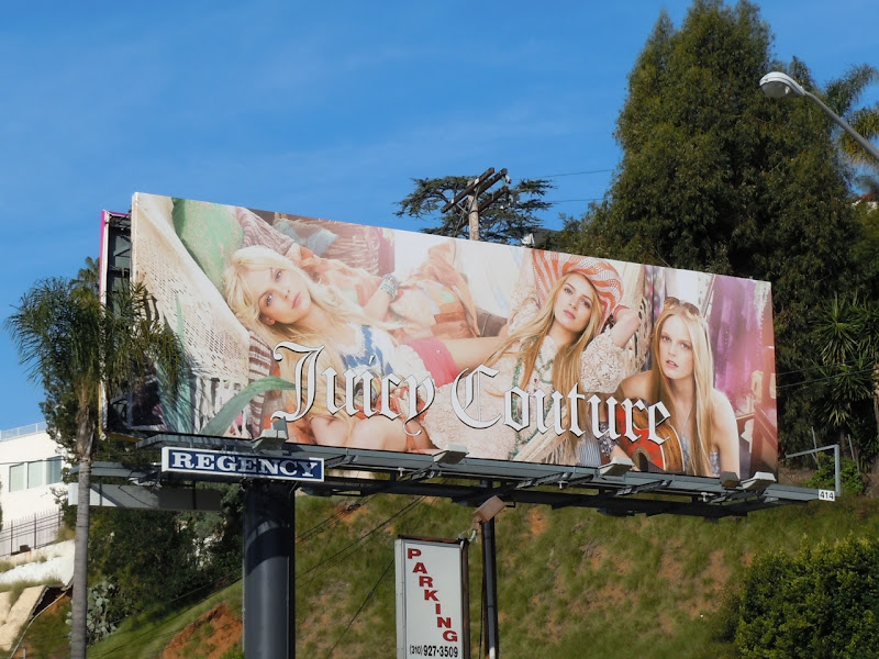 Juicy Couture 2011 billboard