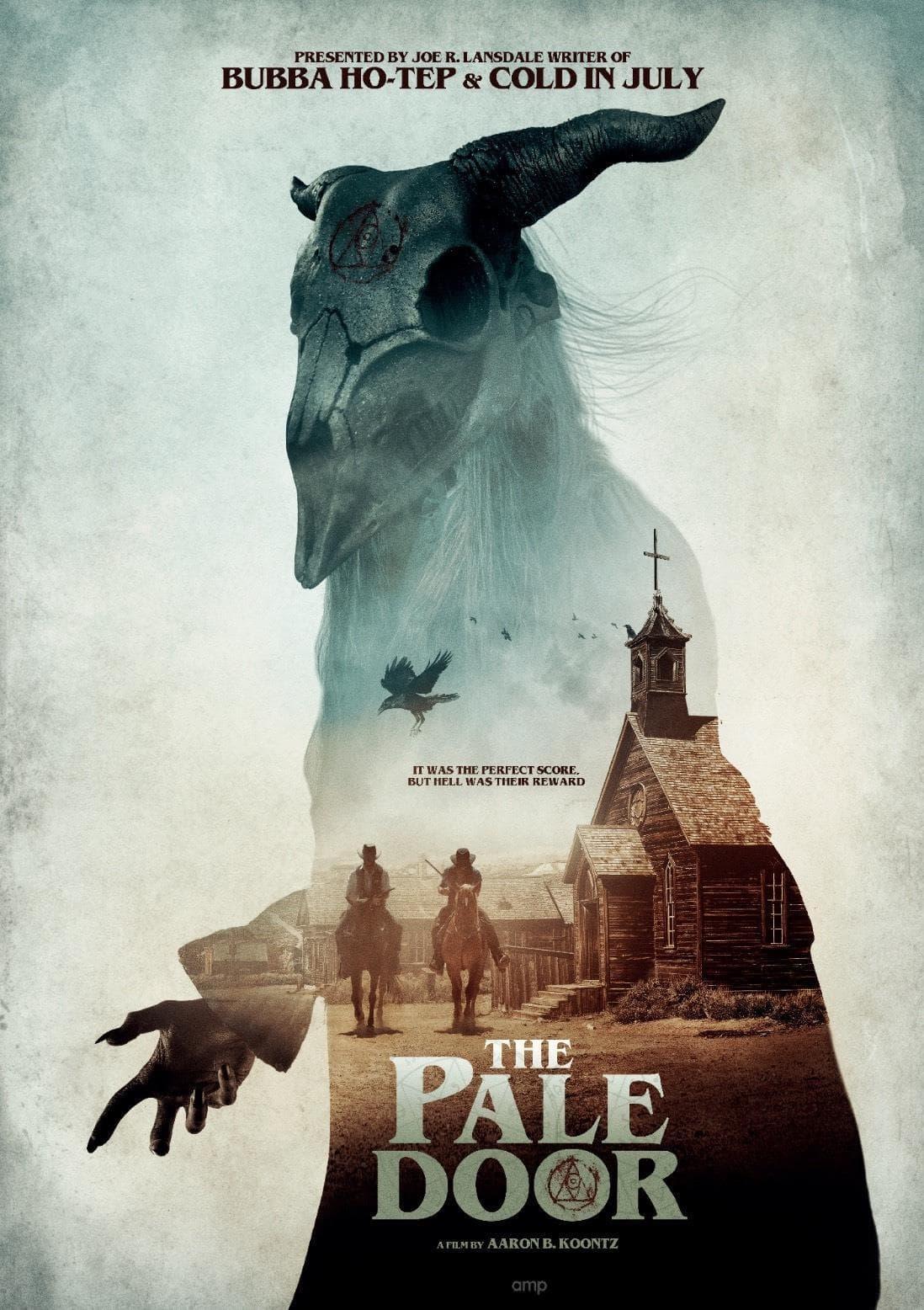 Официальный постер вестерна и фильма ужасов The Pale Door