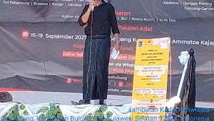 Festival Budaya Kajang  Ditutup Sekdinpar Bulukumba