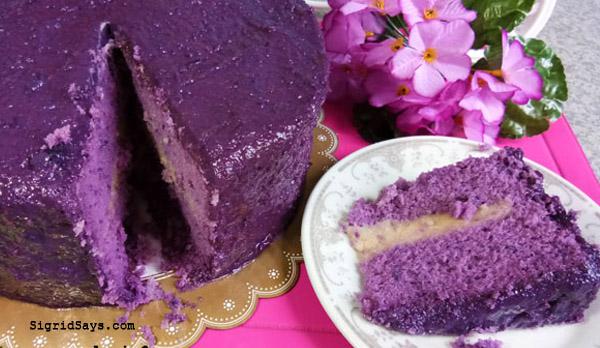 Ann Puen ube cake - best desserts in Bacolod - Bacolod desserts - Bacolod cafes - Bacolod restaurants - Bacolod bloggerbest desserts in Bacolod - Bacolod desserts - Bacolod cafes - Bacolod restaurants - Bacolod blogger