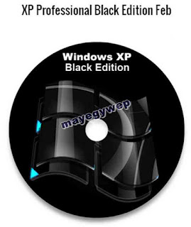 تحميلWindows XP Professional SP3 32-64 bit Black Edition