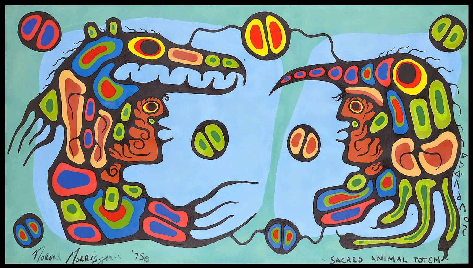 NORVAL MORRISSEAU BLOG: April 2015