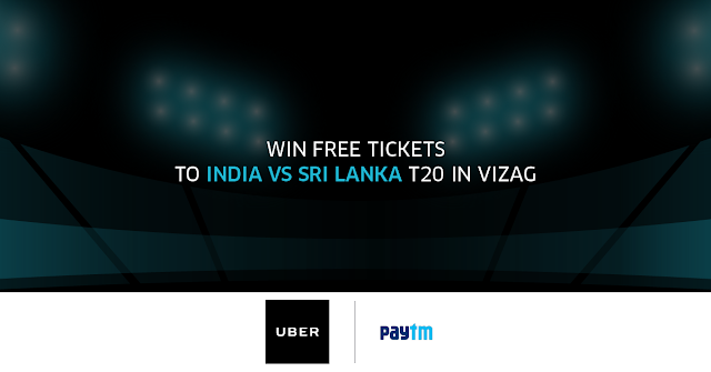 Win VIP Tickets to India Vs SriLanka T20 at Vizag
