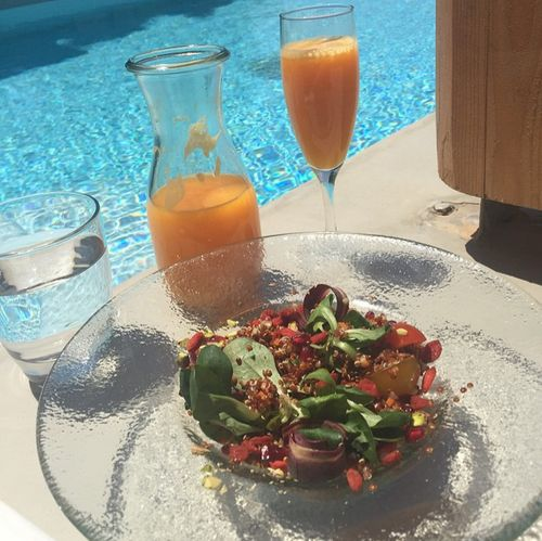Sila Sahin lolls vacation