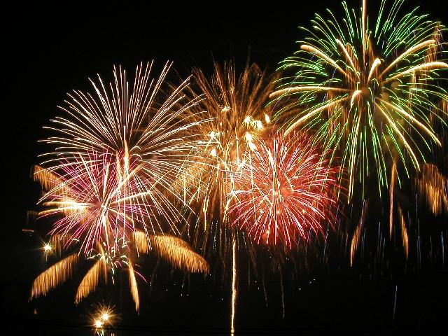 Fireworks Festival in Nagaragawa, Gifu Pref.