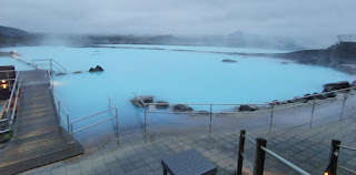 Baños termales Jarðböðin o Mývatn Nature Baths, Islandia, Iceland.