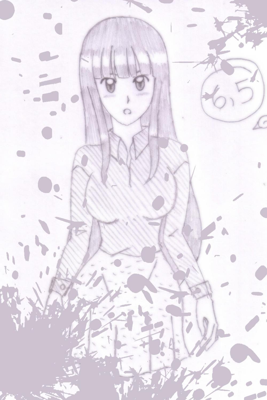 Download Gambar Sketsa Kartun Jepang Cewek Cowok