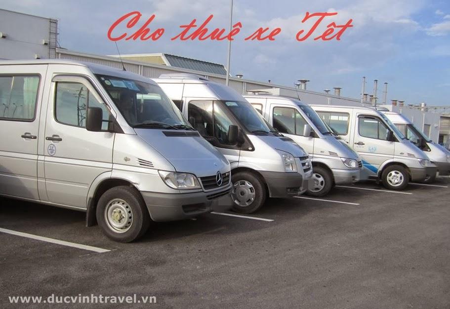 Cho thuê xe Tết đi chơi Tết - về quê Tết trọn gói