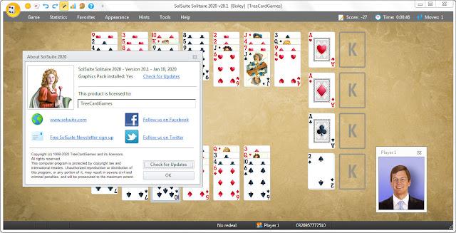 Screenshot SolSuite 2020 v20.1 Full Version