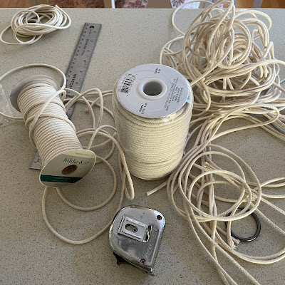 Macrame Plant Hanger Materials
