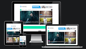 Espire Blogger template responsive best layout