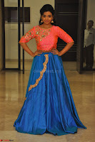 Nithya Shetty in Orange Choli at Kalamandir Foundation 7th anniversary Celebrations ~  Actress Galleries 132.JPG