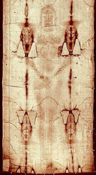 Kain Kafan Turin, kain kafan yesus