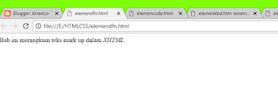 Struktur DOKUMEN HTML5 #4 : ELEMEN-ELEMEN FRASE