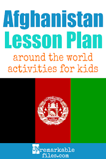 Building the perfect Afghanistan lesson plan for your students? Are you doing an around-the-world unit in your K-12 social studies classroom? Try these free and fun Afghanistan activities, crafts, books, and free printables for teachers and educators! #Afghanistan #lessonplan