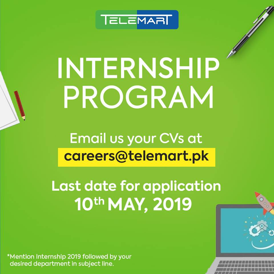 Telemart Summer Internship Program 2019 | Fully Funded